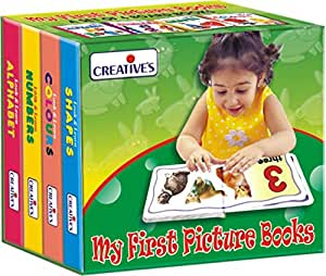 Creative Educational Aids 0552 My First Picture Book (Set of 4 Board Book)