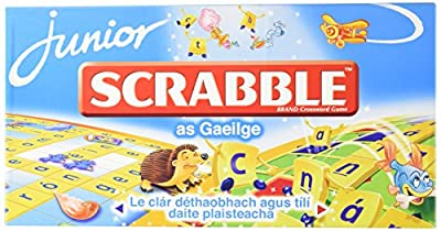 Tinderbox Games Scrabble Junior Irish Language Version