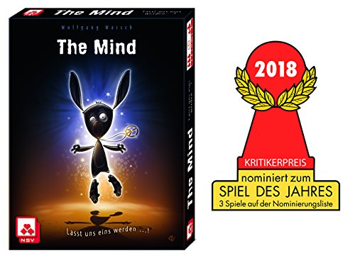 Nürnberger Spielkarten nsv - 4059 - The Mind - Juego de Cartas