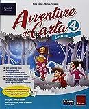 Avventure di carta. Sussidiario dei linguaggi. Per la 4ª classe elementare. Con e-book. Con espansione online
