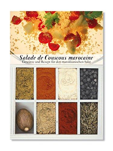 Feuer & Glas Receta para Ensalada Marroquí de Cuscús con Especias y