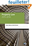 Property Law 2015-2016