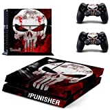 The Punish PS4 Skin Sticker For Sony PlayStation 4 Console and Controller For Dualshock 4 PS4 Skins Sticker Decal Vinyl