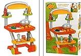 tolle Spielküche Küche Grillwagen mit Zubehör