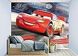 Walltastic 45378 Affiche Murale Cars de Disney, Papier, Multicolore, 52,5 x 7 x 18,5 cm