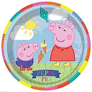 comogiochi plato 23cm Peppa Pig, Multicolor, 5cg236088