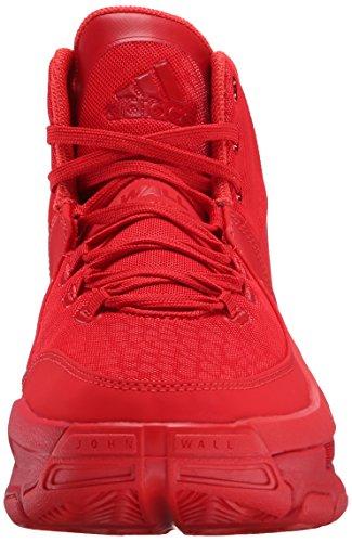 Adidas J Wall 2 scarpe da basket Bianco / Grigio chiaro (5) Scarlet/Power Red
