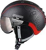 Casco Skihelm SP-2 Snowball Visor Schwarz/Rot (701) XL