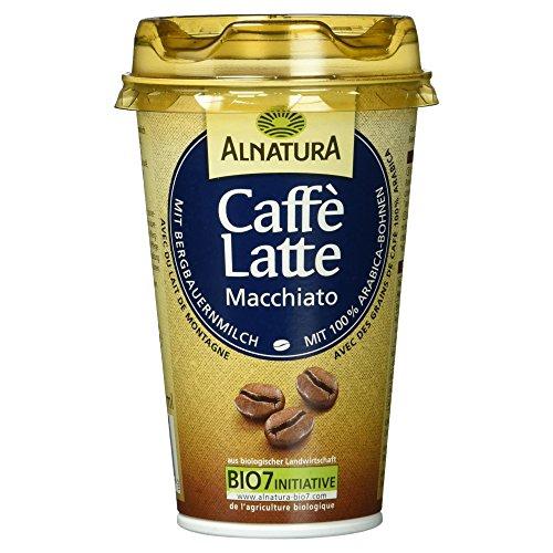 Alnatura Caffè Latte Macchiato Bio Milchmischgetränk aus Vollmilch mit Kaffee, 230 ml