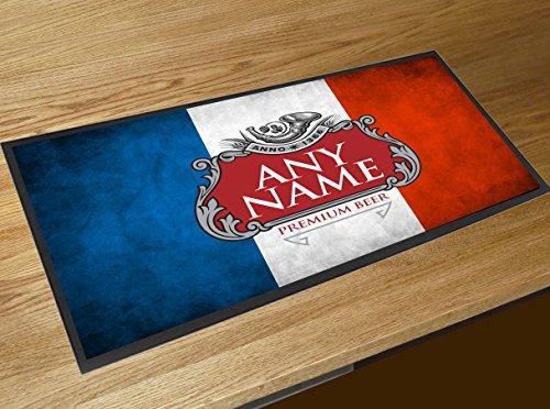 Personalizzato bandiera francese runner pub birra, con