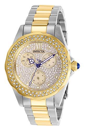 Invicta 28433 Angel Orologio da Donna acciaio inossidabile Quarzo quadrante oro