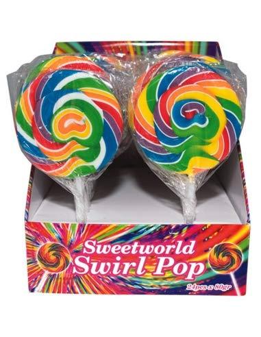 Sweetworld Swirl Pop 80 g x 24 -