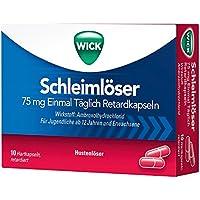 Wick Schleimlöser 75 mg Einmal Täglich Retardkapseln, 10 St preisvergleich bei billige-tabletten.eu