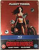 "Grindhouse: Planet Terror and Death Proof (Planète Terreur et Boulevard de la Mort) - Blu-Ray ""Zavvi Exclusive Steelbook Limited Edition"" - NO VF INCLUSE"