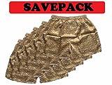 (XL) Savepack Boxers Boxer Boxershort Shorts *** 5 PIECES *** Underwear Elephant Men Woman Girl Boy gold