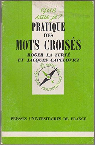 Pratique des mots Croisés qsj 1624