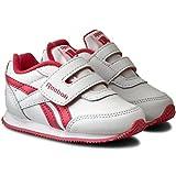 Reebok Royal Cljog 2 KC, Zapatos de Primeros Pasos Unisex bebé, Blanco/Rosa (White/Fearless Pink), 22 1/2 EU
