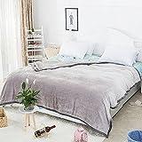 ospi @ imitative Mink Kaschmir rutschfeste Decke/Sofa Decke/Klimaanlage Decke Warm Schutz khaki
