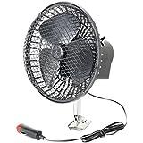 """Sumex 2404015 - Ventilador De Gran Potencia """"Turbo Fan"""" Para Vehículos, 12V (Diámetro 15 Cm, Con Rejilla Protectora)"""