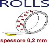 Quattroerre 16041 Rotolo/Nastro Adesivoper Protezione Telaio Bicicletta, 6 cm x 2,5 mt