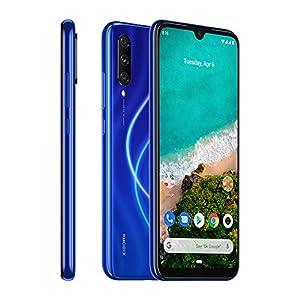 Xiaomi Mi A3 Smartphones 4GB RAM + 128GB ROM, Pantalla de 6.088'', procesador Octa-Core, 32MP Frontal y 48MP AI Triple Cámara Teléfonos móviles Versión Global (Azul)