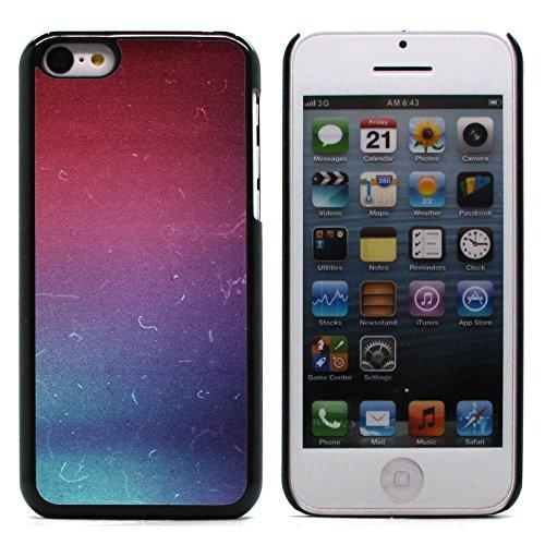 Graphic4You RED STRIPES Muster Harte Hülle Case Tasche Schutzhülle für Apple iPhone 5C Design #14