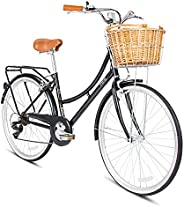 SPARTAN 26 Platinum City Bike - Space Black