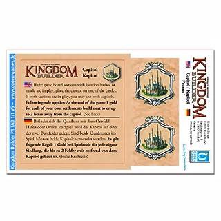 Queen Games 60863 - Kingdom Builder: Erweiterungsmodul 1: Kapitol (B005VQ4DIS) | Amazon price tracker / tracking, Amazon price history charts, Amazon price watches, Amazon price drop alerts