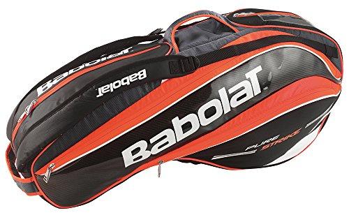 Babolat Schlägertaschen Pure Strike Racket Holder X6, Neonrot, 75 x 31 x 33 cm, 45 Liter, 751095-189 (Holder Racket)