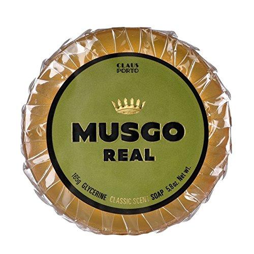 Musgo Real Claus Porto Savon à base d'huile de citron vert et de glycérine 165 g