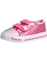 Skechers ShufflesSweet Steps - Caña baja de lona niña