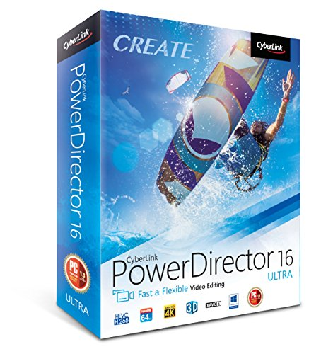Cyberlink Power Director 16 Ultra - The No.1 Choice For Video Editors...