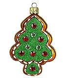 PPH 'IMP' Christbaumschmuck Figuren Essen Christbaumschmuck (Lebkuchen Weihnachtsbaum 7.5cm) Figuren Essen Christbaumkugeln Weihnachtskugeln Weihnachts-Baumschmuck Baumkugeln Deko Luxus