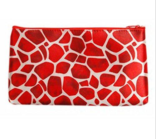 Frauen reisen kosmetische Beutel Tasche Clutch Handtasche lässig Geldbörsen C