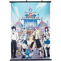 Fairy Tail Team Natsu Anime - Rollo de pared (60 x 90 cm)