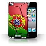 Coque de Stuff4 / Coque pour Apple iPod Touch 4 / Portugal Design / Nations de Football Collection