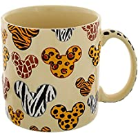 Disney Safari Animal Print Embossed/3-D Coffee/Hot Cocoa/Tea Mug - Disney Parks Exclusive & Limited Availability by Disney