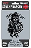 """SONS OF ANARCHY, Reaper, Officially Licensed, 5.5"""" x 4"""" Can and Bottle Koozie COOLER"""