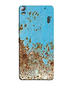 PrintVisa Trendy Plain 3D Hard Polycarbonate Designer Back Case Cover for Lenovo K3 Note :: Lenovo A7000 Turbo