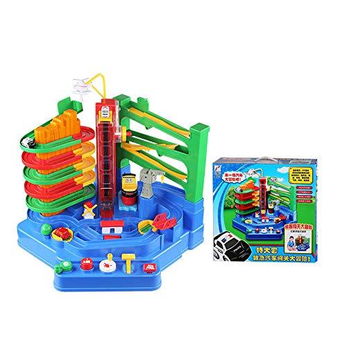 Mzl Kinder brechen große Abenteuer Auto Flugzeug Bahn Parken Konsole Kombination Puzzle Spielzeug Jungen Spaß Spielen 3-6 Jahre
