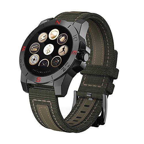 Grün Bestseller Smart-Uhren , Herzfrequenzmessung Sport Armbanduhr Für Junge , Positionierungsanzeige / Telefon Abheben Digitaluhren