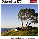 Ostseeküste - Kalender 2017: Sehnsuchtskalender, 53 Postkarten