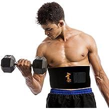 Faja reductora mujer/hombre para adelgazar. Faja lumbar para proteger la espalda. Faja abdominal perfecta para tonificar la zona del vientre. Talla única. Material de alta calidad.