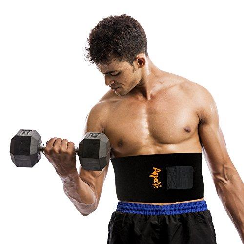 Faja-reductora-mujerhombre-para-adelgazar-Faja-lumbar-para-proteger-la-espalda-Faja-abdominal-perfecta-para-tonificar-la-zona-del-vientre-Talla-nica-Material-de-alta-calidad