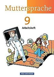 Muttersprache - Östliche Bundesländer und Berlin - Neue Ausgabe: 9. Schuljahr - Arbeitsheft