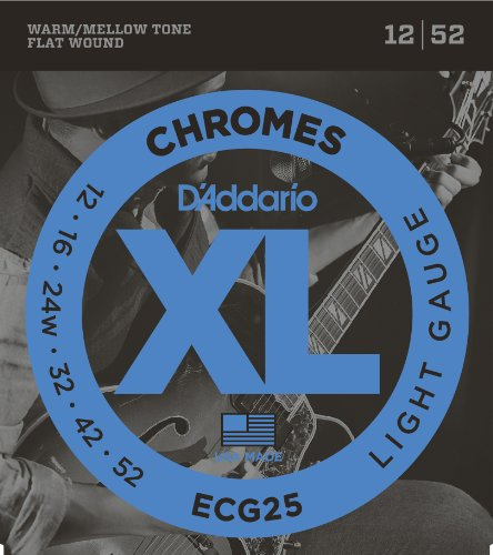 D'Addario ECG25 XL Chromes Light...