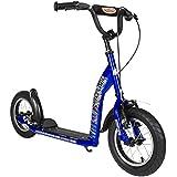 BIKESTAR® Patinete Scooter Premium ★ Mejor vendido en su categoría para niños de 7 años ★ Edición 12s Sport ★ Azul