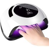 SINZONeu Lampe UV Sèche Ongles, 120W UV LED Séchoir à Ongles Professionnel Automatique, 4 Minuteries 10/30/60/99S, Grand…