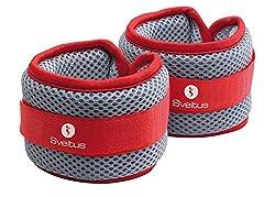 "Weight cuffs PAIR - 2x 500g - hand and foot weights - ""Aqua Band"""