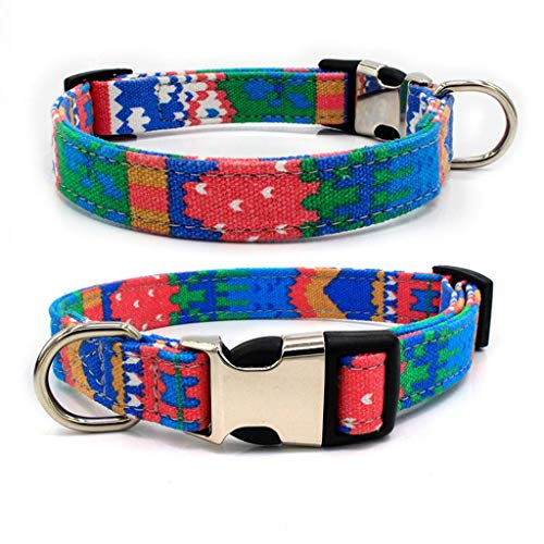 Barlingrock Hundehalsband Hundehalsband Hundehalsband Hundehalsband Hundehalsband Hundehalsband Hundehalsband Hundehalsband Verstellbare Nieten Gut für Hunde, Katzen, Pferde, Haustiere -